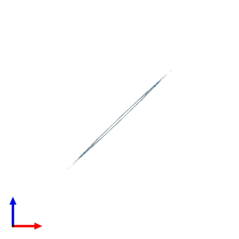 <div class='caption-body'>PDB entry 3jax contains 40 copies of Myosin regulatory light chain in assembly 1. This protein is highlighted and viewed from the front.</div>
