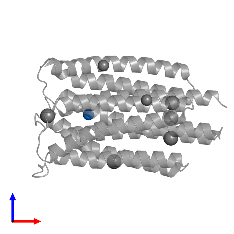 <div class='caption-body'>PDB entry 3k1s contains 1 copy of MAGNESIUM ION in assembly 1. This small molecule is highlighted and viewed from the front.</div>