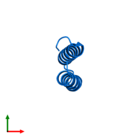 PDB 3v1a contains 1 copy of Computational design, MID1-apo1 in assembly 1. This protein is highlighted and viewed from the top.