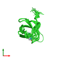 PDB 4a4f coloured by chain and viewed from the top.