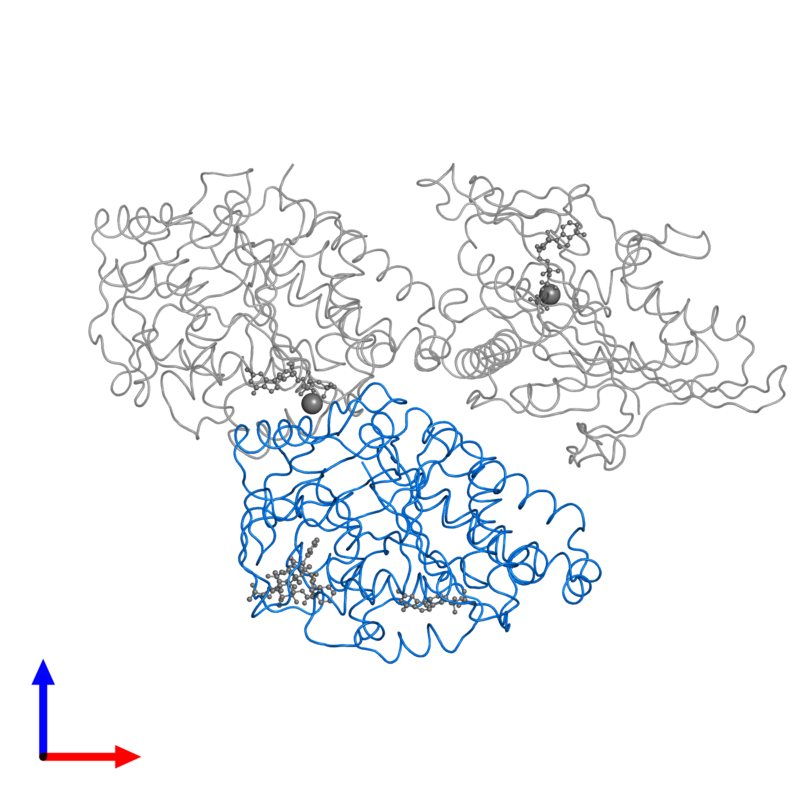 <div class='caption-body'>PDB entry 4ck7 contains 1 copy of Tubulin beta-2B chain in assembly 1. This protein is highlighted and viewed from the front.</div>