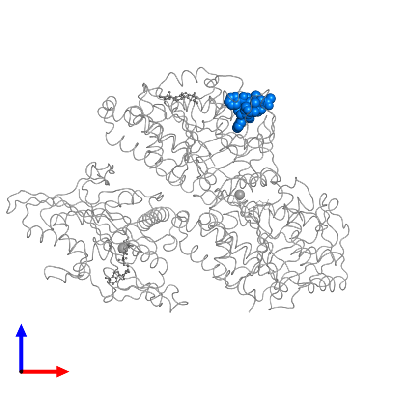<div class='caption-body'>PDB entry 4ck7 contains 1 copy of TAXOL in assembly 1. This small molecule is highlighted and viewed from the front.</div>