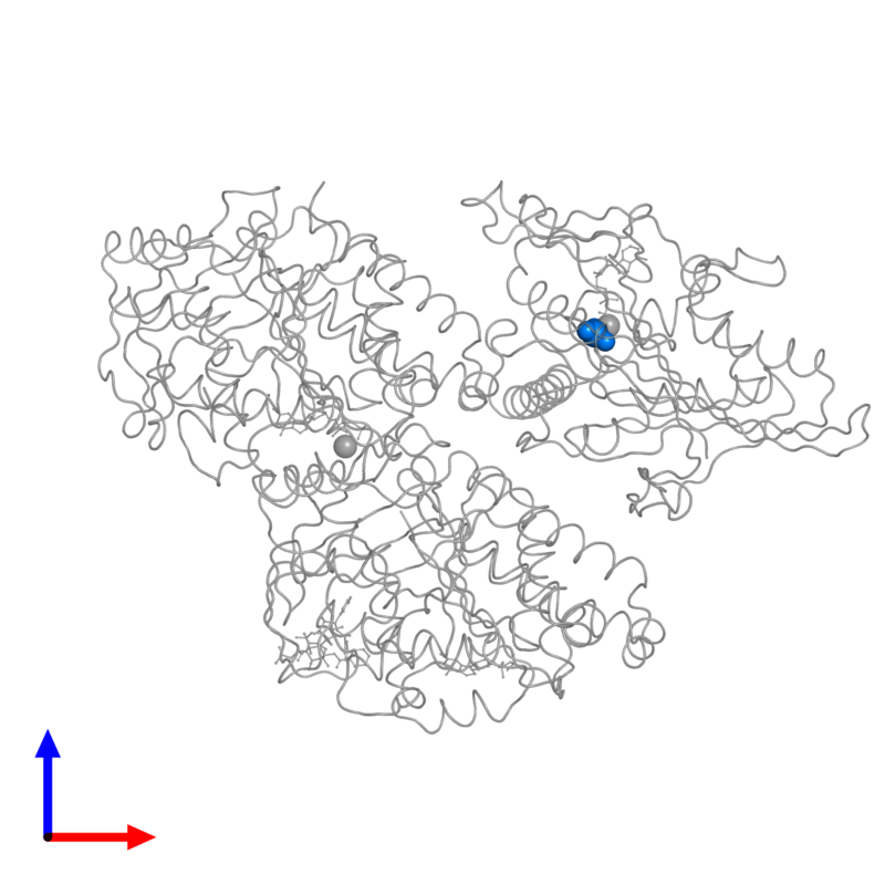 <div class='caption-body'>PDB entry 4ck7 contains 1 copy of ALUMINUM FLUORIDE in assembly 1. This small molecule is highlighted and viewed from the front.</div>
