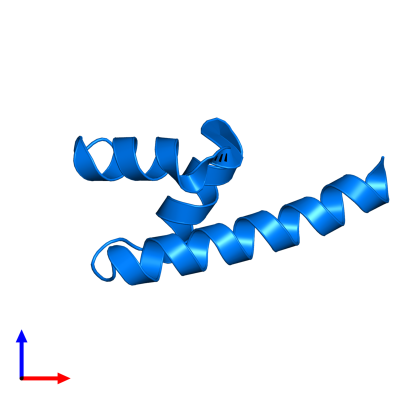 <div class='caption-body'>PDB entry 4g3o contains 1 copy of E3 ubiquitin-protein ligase AMFR in assembly 1. This protein is highlighted and viewed from the front.</div>
