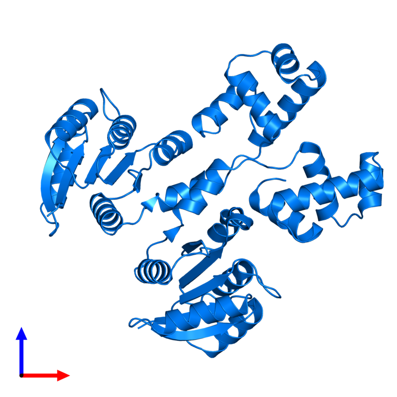 <div class='caption-body'>PDB entry 4hye contains 2 copies of Response regulator in assembly 1. This protein is highlighted and viewed from the front.</div>