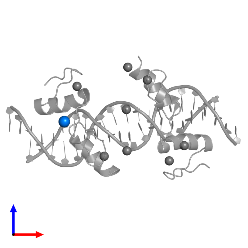 <div class='caption-body'>PDB entry 4is1 contains 1 copy of CHLORIDE ION in assembly 1. This small molecule is highlighted and viewed from the front.</div>