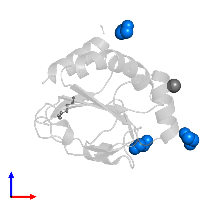 <div class='caption-body'>PDB entry 4nmu contains 3 copies of 1,2-ETHANEDIOL in assembly 4. This small molecule is highlighted and viewed from the front.</div>