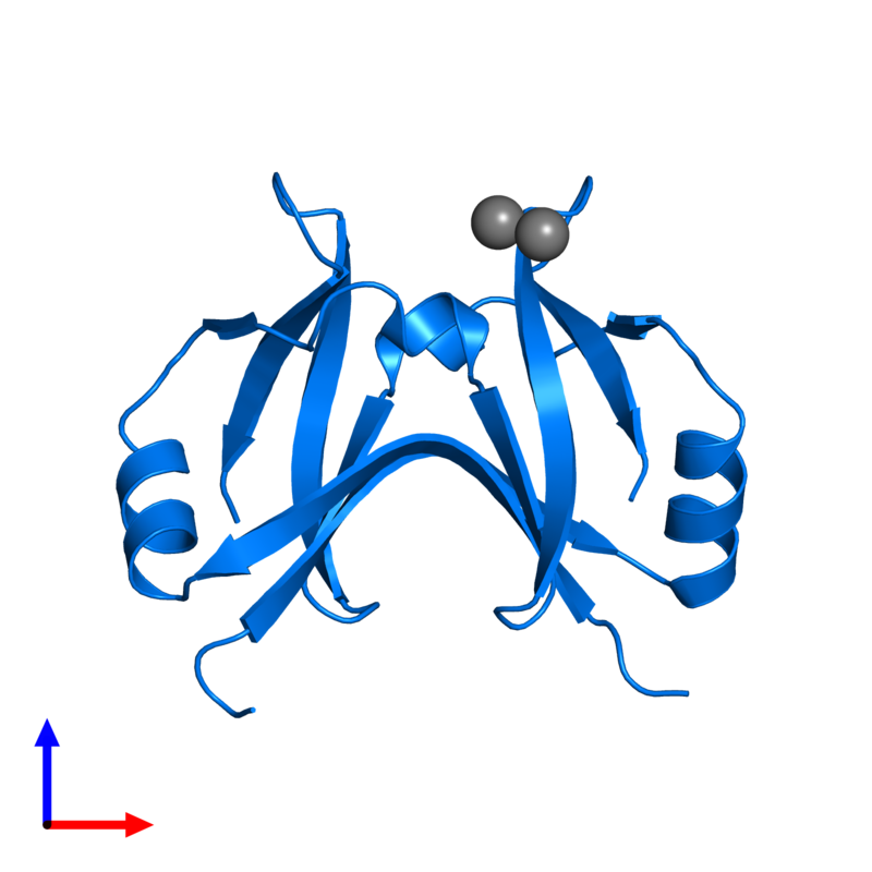 <div class='caption-body'>PDB entry 4yx1 contains 2 copies of Surface presentation of antigens protein SpaO in assembly 1. This protein is highlighted and viewed from the front.</div>