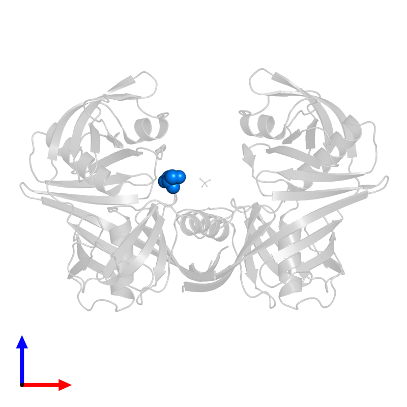 <div class='caption-body'>PDB entry 5h2g contains 1 copy of GLYCEROL in assembly 1. This small molecule is highlighted and viewed from the front.</div>