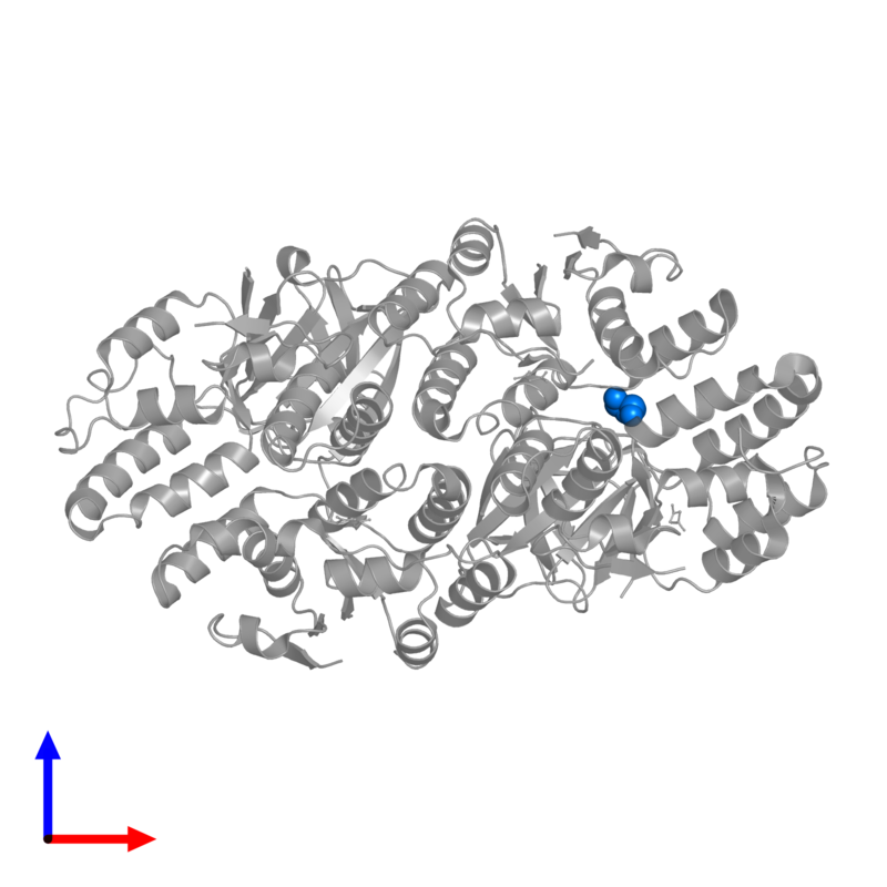 <div class='caption-body'>PDB entry 5l6m contains 1 copy of GLYCEROL in assembly 1. This small molecule is highlighted and viewed from the front.</div>