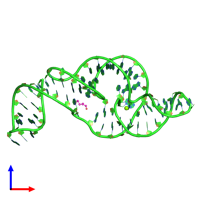 PDB 5tpy coloured by chain and viewed from the front.