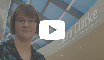 Video still: Laura Clarke in the Blueprint video: Big data and the first epigenetic atlas of blood cells