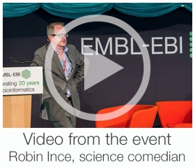 Robin Ince, science comedian