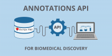 Europe PMC annotations API provides programmatic access to annotations text-mined from biomedical abstracts and open-access, full-text articles in Europe PMC.