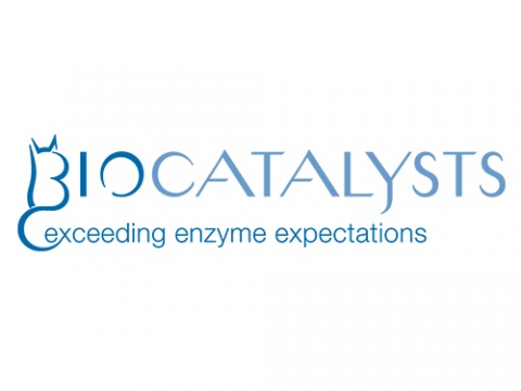 Biocatalysts logo. Discover new enzymes with MGnify