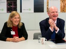 Janet Thornton and David Willetts