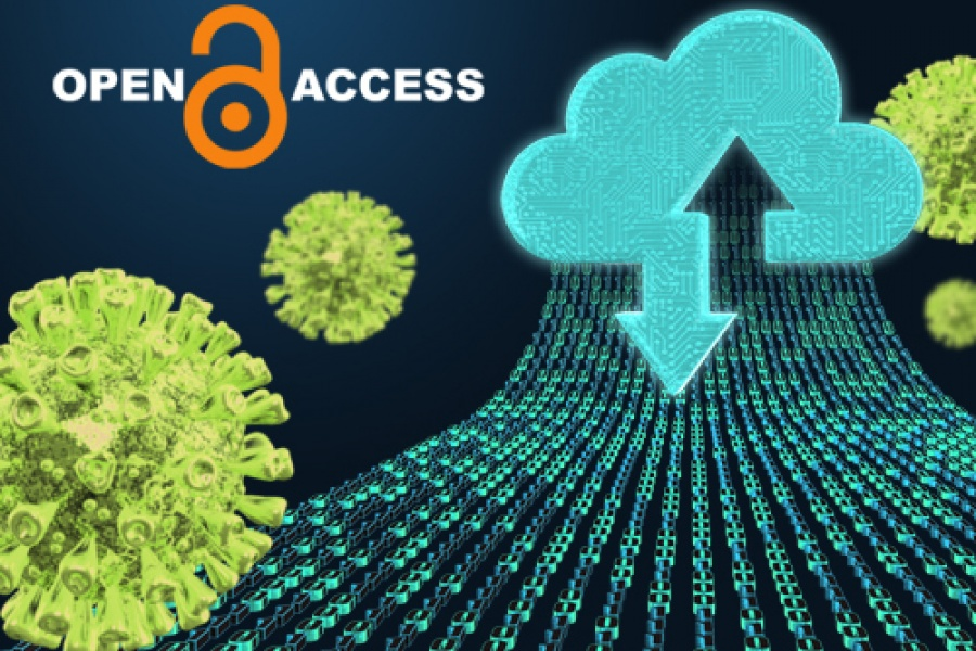 Open access data sharing accelerates COVID-19 research