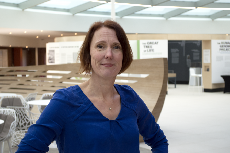 Helen Parkinson, Head of Molecular Archives at EMBL-EBI